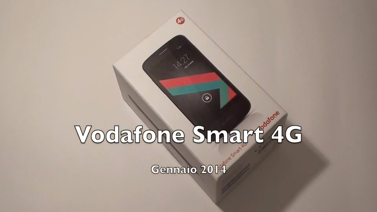 Vodafone smart 4g la videorecensione di for Oficina 4g vodafone