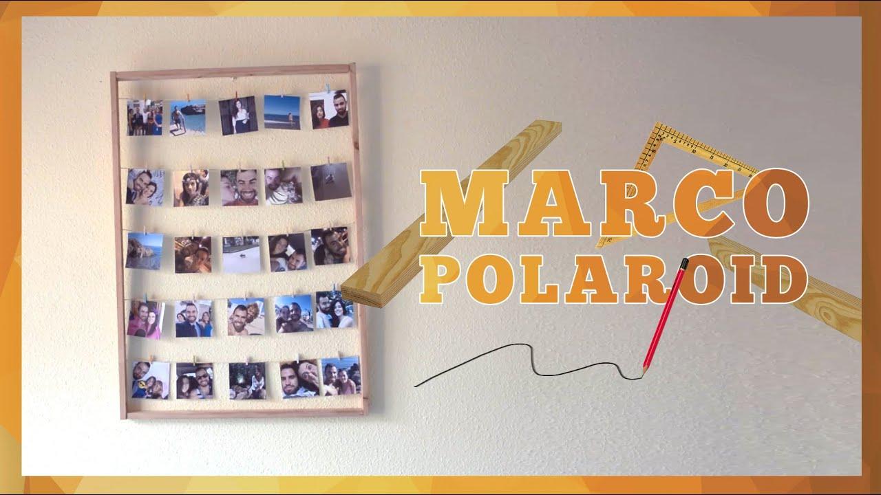 Marco casero para fotos Polaroid | ¿Cómo hacerlo? - YouTube