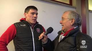 Toscana Aeroporti I Medicei vs Mogliano Rugby - Intervista Sebastian Rodwell 17.02.2018