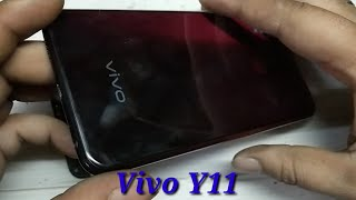 Vivo Y11vivo 1906,Open back panel and Edl point, pattern and password unlock
