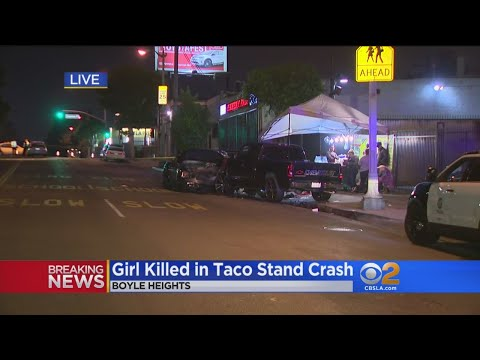 Driver Slams Into Parked Cars At Taco Stand, Killing 11-Year-Old Girl