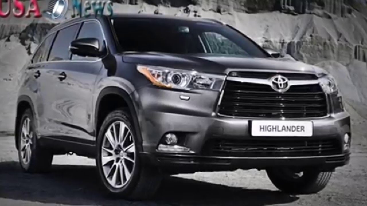 Toyota highlander 2016 interior and exterior with full specification youtube