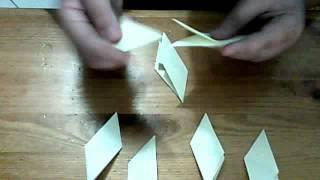 how to make a paper transforming nijna star