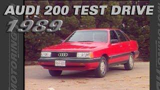 Audi 200 Test Drive - Throwback Thursday