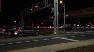 South Watt Avenue Railroad Crossing Malfunction, Traffic Signals Also Malfunction
