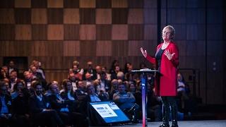 Enovakonferansen 2017: Direktør Kristin Halvorsen i CICERO Senter for klimaforskning