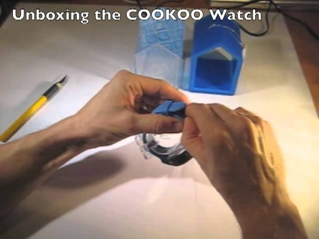 Unboxing the COOKOO Watch