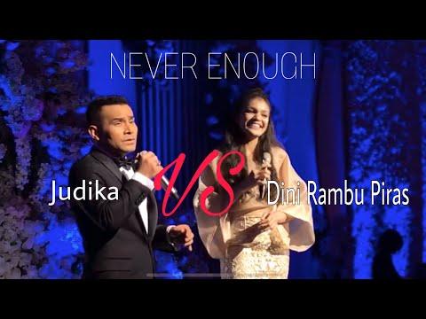 Never Enough (cover) By Judika & Dini Rambu Piras With Stradivari Orchestra