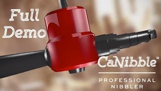 introducing canibble the professional nibbler tool   product guide with full instructions