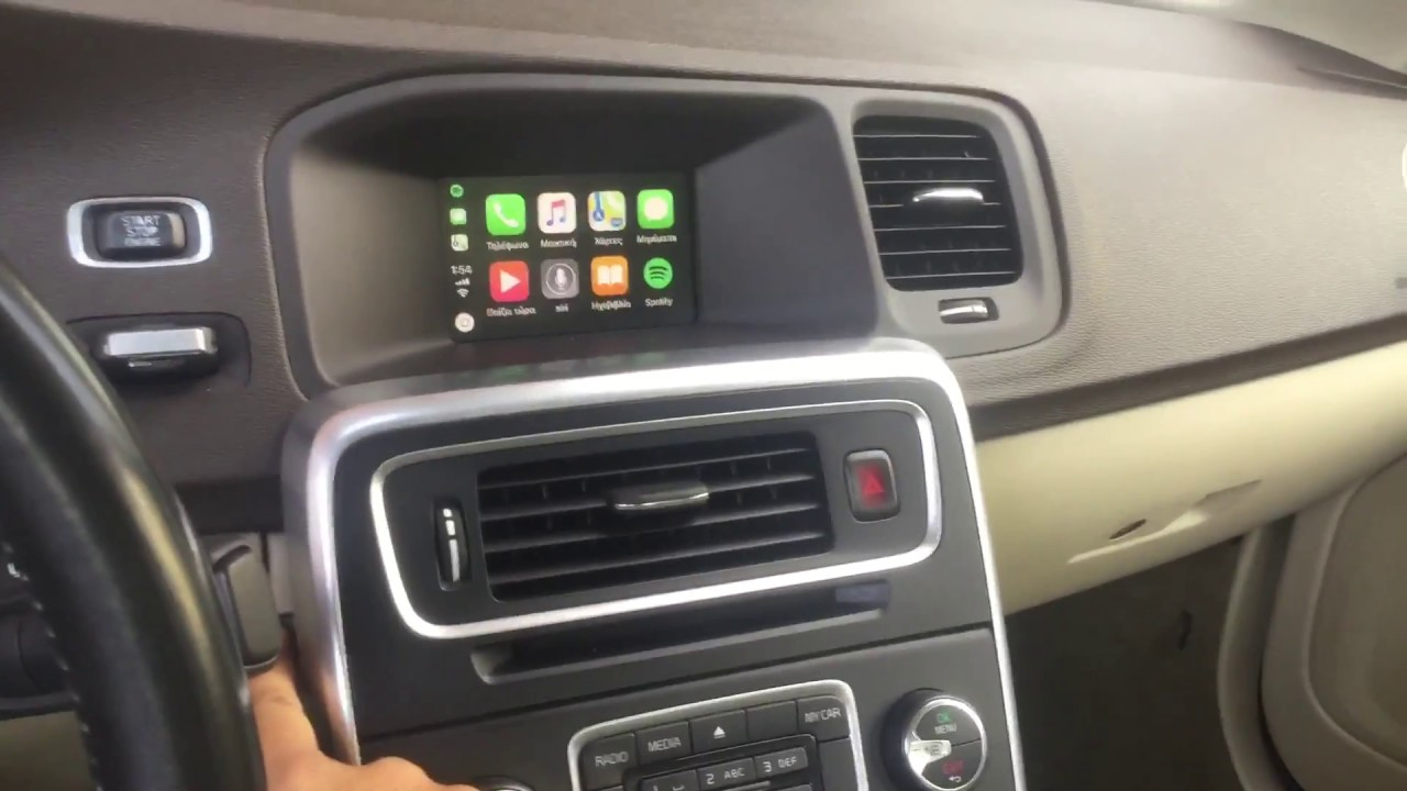 volvo apple carplay v40
