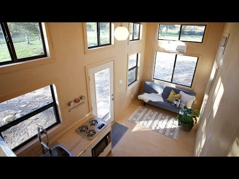 Nomad The Low Cost Tiny House With Modern Style Interior - Youtube
