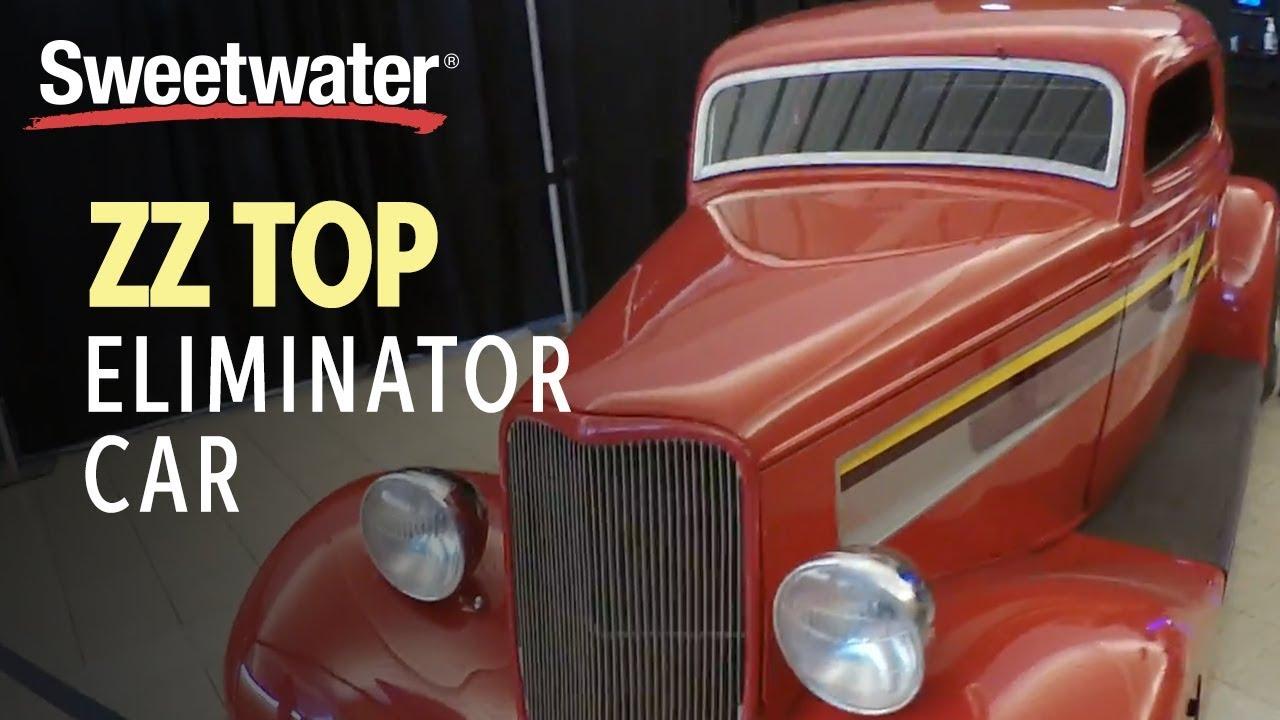 Free Car History Report >> ZZ Top Eliminator Car at GearFest 2018 - YouTube
