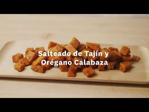 Thumbnail to launch Sautéed Butternut Squash Spanish video