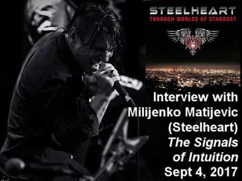 Milijenko Matijevic (Steelheart) 2017 Interview on The Signals of Intuition