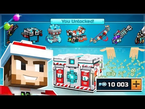I SPENT 10,000 KEYS ON SUPER CHEST CRATE OPENINGS!! AND UNLOCKED SO MANY THINGS | Pixel Gun 3D