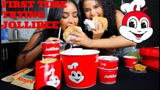 FIRST TIME TRYING JOLLIBEE | OVERRATED?