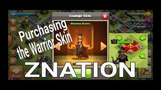New Warrior Skin Archer Queen Clash of Clans