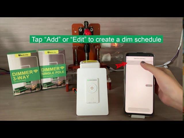 2. Schedule - Dim Automatically