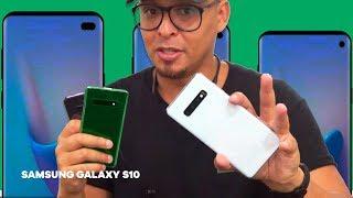 💥 PEGUEI TODOS GALAXYS S10 (Galaxy S10 Plus, Galaxy S10E), QUE MÁQUINA!