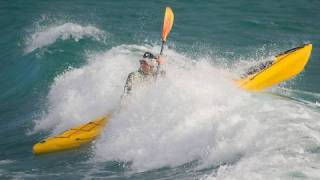 Kayak Technique - Launching in a Surf Zone