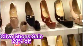 Clive shoes winter sale 20% off | Clive