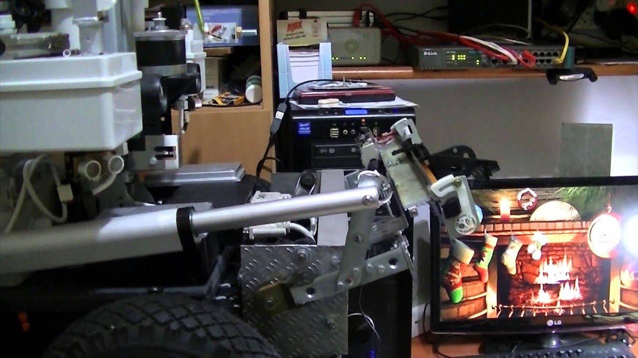 Motore sollevamento braccio meccanico rover youtube for Ponte meccanico per auto usato