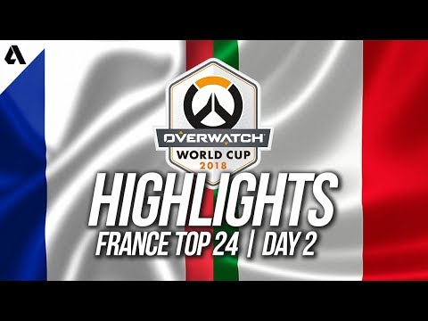 France vs Italy | Overwatch World Cup 2018 Paris Qualifier Day 2