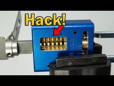 Close Up On A Cool Hack With The American Lock AM5 Lishi