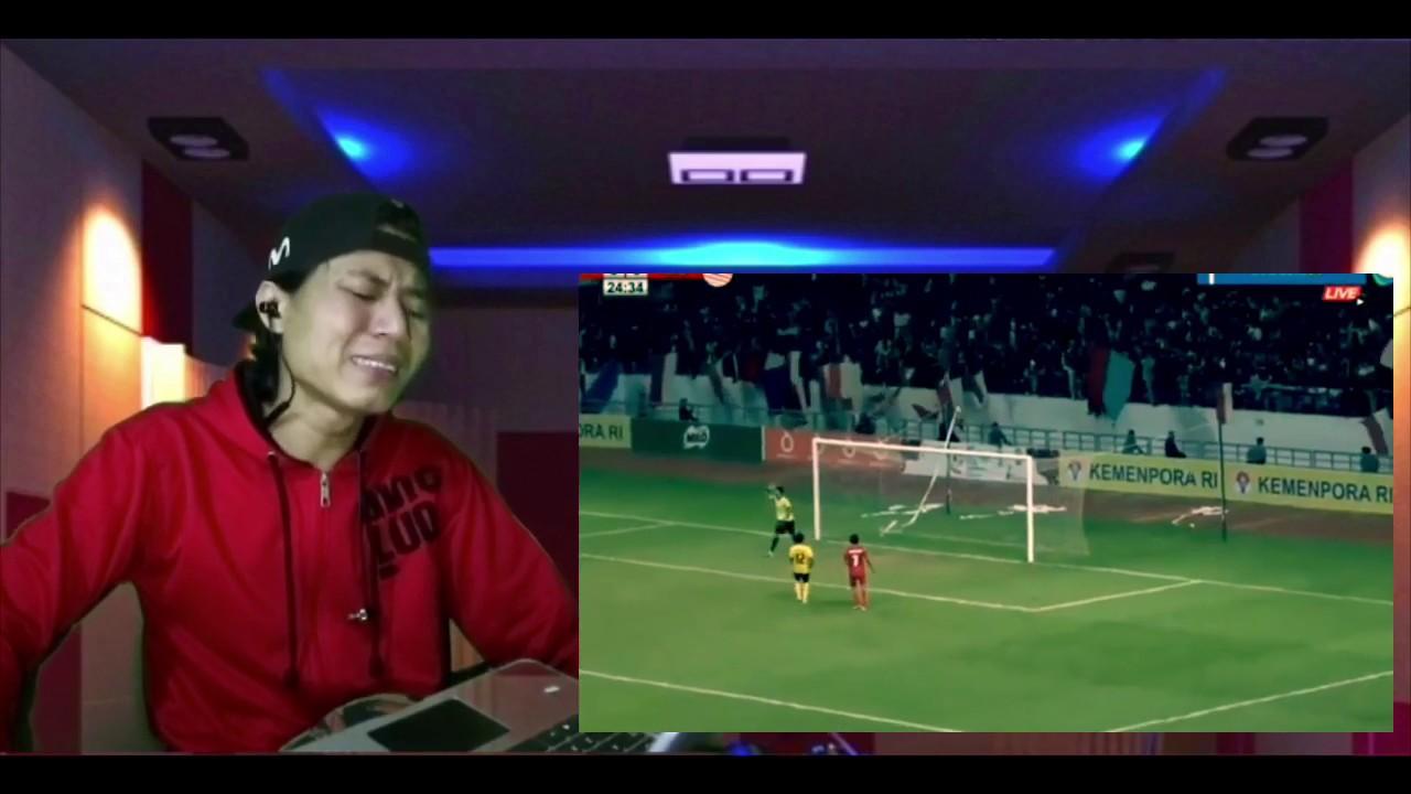 Download INDONESIA  U18 vs MALAYSIA U18 , FT 1-1 , PENALTY 3-5  semifinal 2019 reaction
