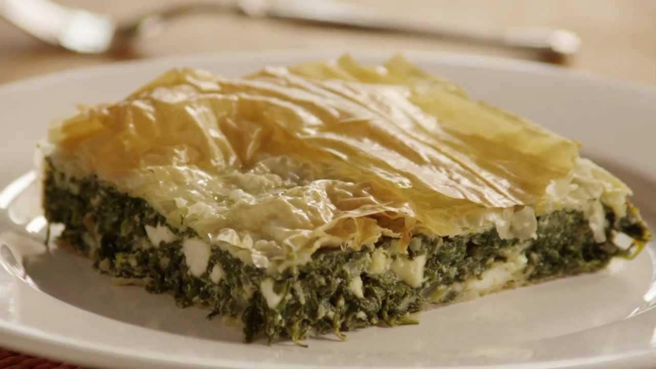 how to make spinach pie