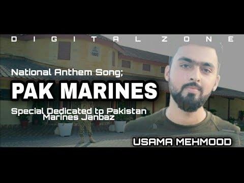 Pak Marines Song | National Anthem Song | U-saama Mehmood | Naveed | Sid Rajput | Pakistani songs 21