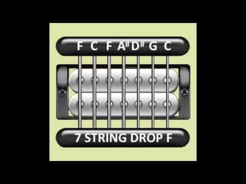 Perfect Guitar Tuner (7 String Drop F = F C F A# D# G C)