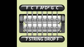 Perfect Guitar Tuner (7 String Drop F = F C F A# D# G C)