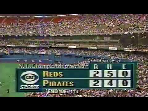 1990 NLCS Game #3: Reds at Pirates