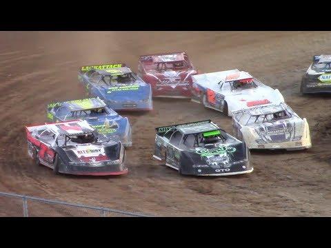 RUSH Crate Late Model Heat Two | McKean County Raceway | 9-30-17
