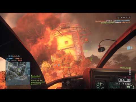 Battlefield 4 - jet rammed survival but instant AA killed?