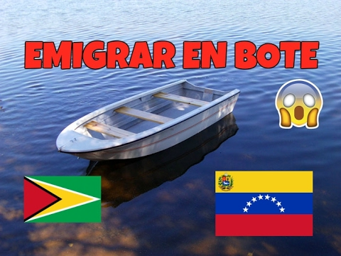 Emigramos de Venezuela en BOTE! Nuestra historia.