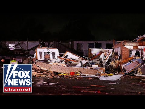Two dead after Oklahoma tornado leveled a motel, mobile home park