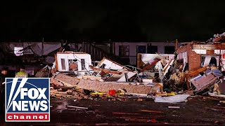Two dead after Oklahoma tornado leveled a motel, mobile home p…