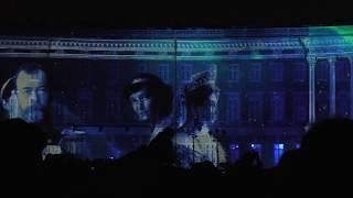 """Фестиваль света Санкт Петербург. 5 ноября. Дворцовая. Световое шоу """"1917"""""""