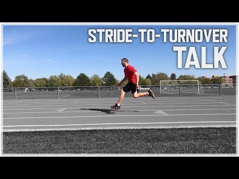 Sprinting Stride Length to Stride Turnover Ratio | Sprint Training