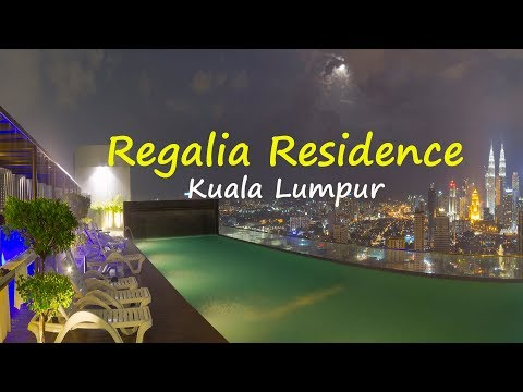 Where to stay in Kuala Lumpur /  BEST KL City View at Regalia Residence Apartment review