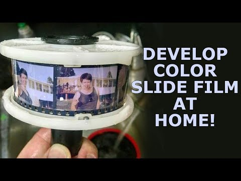 Develop Color Slide Film (Ektachrome) at Home!