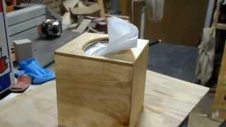 GPW 11 - Wooden Tissue Box ( Failure - as an Option )