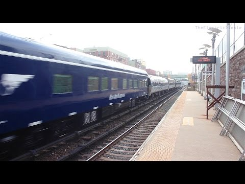 Amtrak OCS Extra #828 on Metro North Harlem line (Tremont)