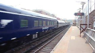 Amtrak OCS Extra #828 on Metro North Harlem line (Tremont)