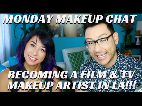 How to Become a Working Freelance Makeup Artist in TV & Film  #MondayMakeupChat - mathias4makeup