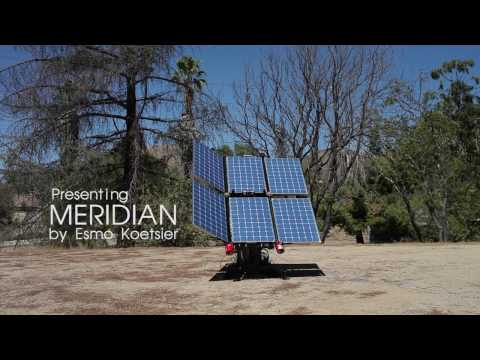 Meridian Indiegogo Campaign (Folding Solar Panel Array)