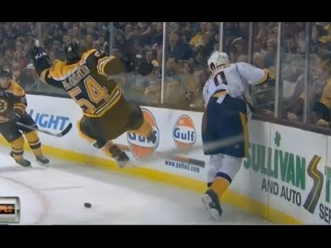 NHL Hits By Players Who Don't Usually Hit