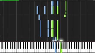 Как играть на пианино тему из Токийского Гуля [ Tokyo Ghoul Opening ]